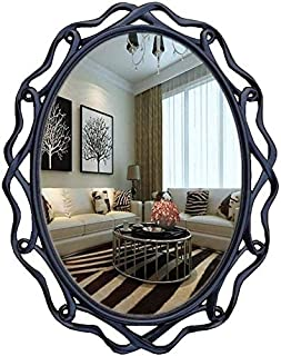 Daily Necessities Vintage Resin Oval Vanity Mirror (Color : Style-B, Size : 62CM×79.2CM) (Color : Style c, Size : 62CM×79.2CM)