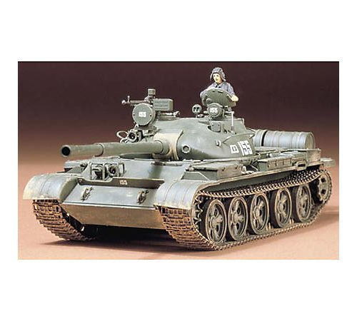 TAMIYA 35108 1:35 Rus. T-62A Kampfpanzer (1), Modellbausatz,Plastikbausatz, Bausatz zum Zusammenbauen, detaillierte Nachbildung