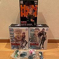 HUNTER×HUNTER ハンター×ハンター DXFフィギュア Vol.4 イルミ ゾルディック vol.3 ゼノ グリードアイランド ゴン 5体セット