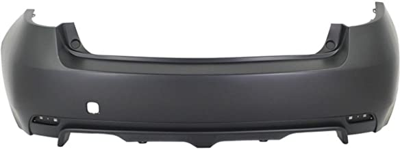 BUMPERS THAT DELIVER - Painted to Match, Rear Bumper Cover Replacement for 2008-2014 Subaru Impreza WRX Wagon 08-14, SU1100163