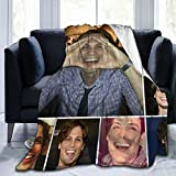 Matthew Gray Gubler Collage Ultra-Soft Micro Fleece Blanket Home Decor Throw Lightweight for Couch Bed Sofa 80'X60'