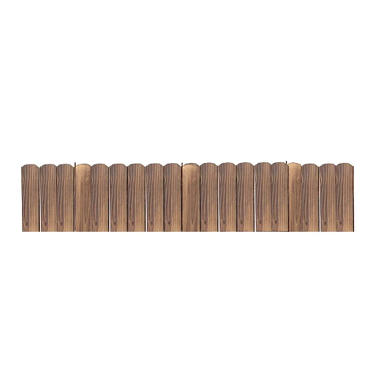 GZHENH 木製ボーダーテンプレート 断つ 保護 抗酸化 耐摩耗性 無垢材 アウトドア 手作り 、2つのスタイル 、4サイズ (Color : Brown, Size : 100x20cm)