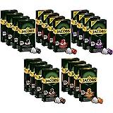Jacobs Aluminum Nespresso® * - Vainas de café compatibles, paquete de 20 variedades (200...
