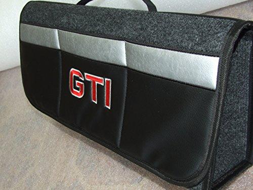 Kofferraum-Organizer mit besticktem GTI, passend für alle Automodelle