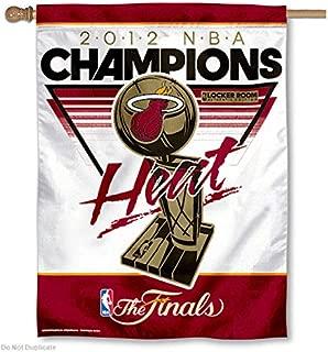 Wincraft Miami Heat 2012 NBA Finals Champions Official On Court/Locker Room Celebration 27