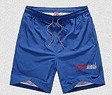 Tdz Man costume da bagno tronchi di nuotata della tasca rapida Piscina Dry Shorts GS Adrenaline Motorrad Biker Uomo Costumi da bagno for la BMW GS 1200 Boxer (Color : Blu)