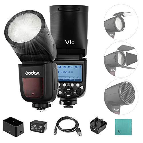 Godox V1-C Professional Flash Speedlite Speedlight Round Head...