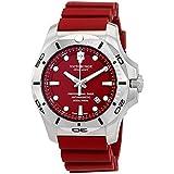 ビクトリノックス Victorinox 腕時計 I.N.O.X. Professional Diver Red Dial Rubber Men's Watch 241736 [並行輸入品]
