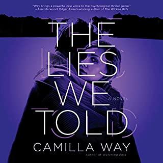 The Lies We Told audiobook cover art