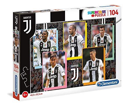 Clementoni - 27524 - Supercolor Puzzle - Juventus - 104 Pezzi