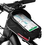 Simpeak Bike Front Frame Bag, Bike Bag Waterproof Top Tube Frame Bag