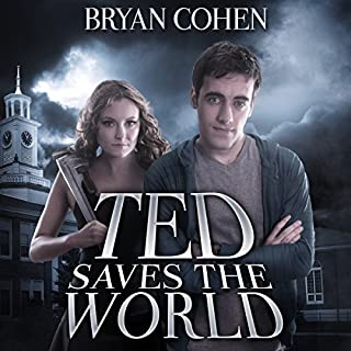 Ted Saves the World audiobook cover art