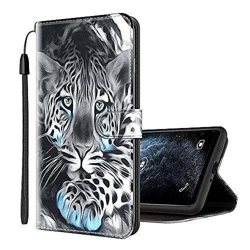 Sinyunron Handy Schutzhülle Kompatibel mit ZTE Nubia N1 Hülle Handy Tasche Hülle Handyhülle Lederhülle mit Kartenfächer,Ständer,Magnetverschluss,Hülle07C