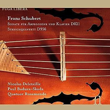 Schubert: Sonate für Arpeggione und Klavier D. 821 & Streichquintett D. 956