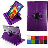 COOVY® 2.0 Cover für Samsung Galaxy Note PRO 12.2 SM-P900 SM-P901 SM-P905 Rotation 360° Smart Hülle Tasche Etui Case Schutz Ständer   lila