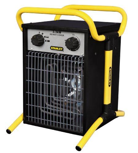 Stanley ST-033-230-E - Calentador eléctrico industrial/turbo