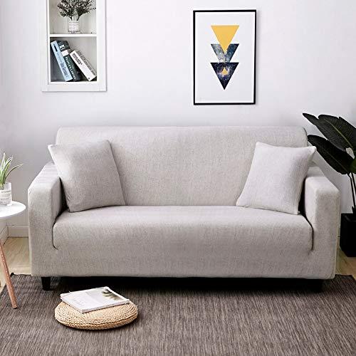 ASCV Funda de sofá elástica geométrica Funda de sofá elástica con Todo Incluido para sofá de Diferentes Formas Funda de sofá Estilo L A4 4 plazas