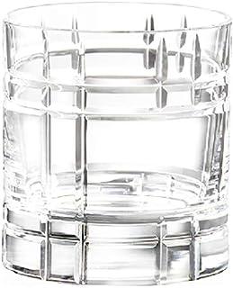 6 Verres à Whisky/Apéritif/Eau - Service Quadra (35 cl) - Maison Klein - Artisan du Cristal - Coffret Cadeau - Estampillé...