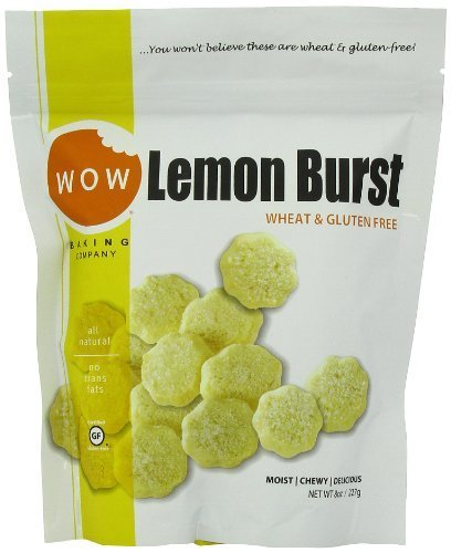 WOW BAKING COMPANY Cookies, Lemon Burst, 8-Ounce (Pack of 6) by WOW Baking Company