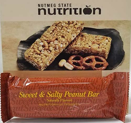 Nutmeg State Nutrition High Protein Snack Bar/Diet Bars - Sweet & Salty...