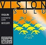 Thomastik Infeld Corde per Violino Vision Solo set 4/4 medium, Re rivestimento alluminio...