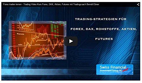 Trading Video Kurs für DAX, Forex, Devisen, Aktien, Futures, Rohstoffe - traden lernen mit Berndt Ebner für Daytrading und Swing-Trading
