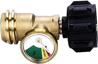 inline propane flow meter