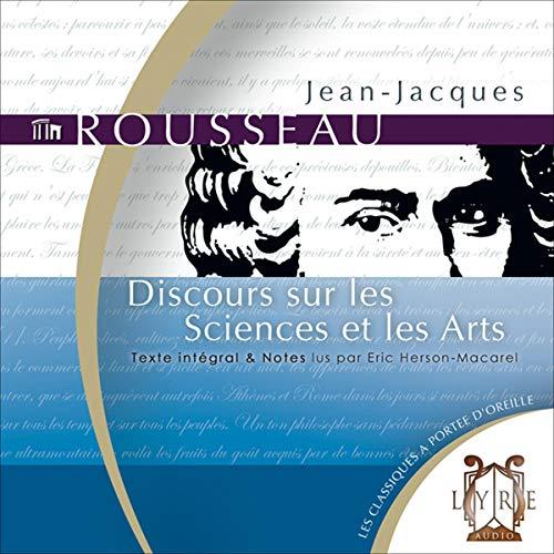 Couverture de Discours sur les Sciences et les Arts