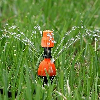 Garden Sprinklers - 10-50pcs Multifunctional Adjustable 8 Outlets Spray Dripper Irrigation Sprinklers Watering kits Drip I...