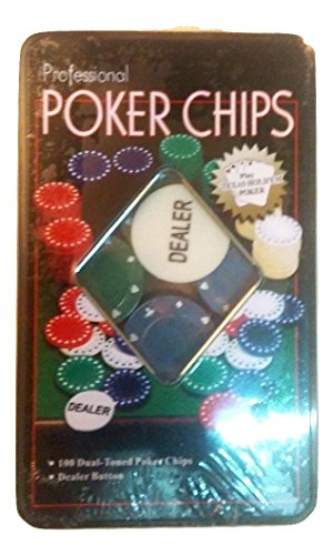 POKER CHIPS PROFESSIONAL 100 PZ