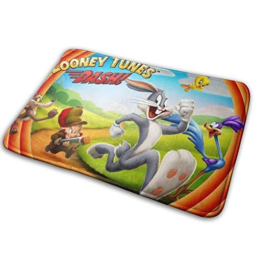 Alfombra antideslizante para piso de Looney Tunes, alfombrilla para puerta, alfombras suaves, alfombrillas para juegos para niños, decoración navideña para el Día de Acción de Gracias, alfombr
