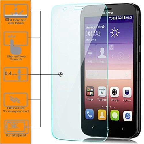 Saxonia 1x Displayschutzglas für Huawei Y625