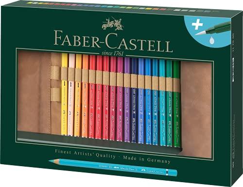 Faber-Castell Alberto Durero - Lápices de acuarela, color carbón 30 Stifte inklusive Stifterolle &...