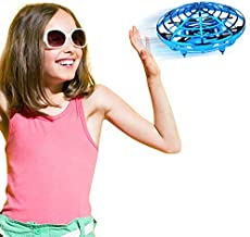 Jasonwell Hand Operated Drone for Kids Toddlers Adults - Hands Free Mini Drones for Kids Flying Toys Gifts for Boys and Girls Hand Drone 6 7 8 9 10 Years Old Kids Self Flying Drone