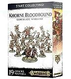 Games Workshop Warhammer AoS - Comienza a coleccionar! Khorne Bloodbound Goreblade Warband