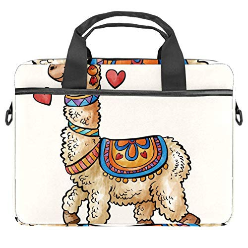 13.4'-14.5' Laptop Case Notebook Cover Business Daily Use or Travel Cute Alpaca Animal