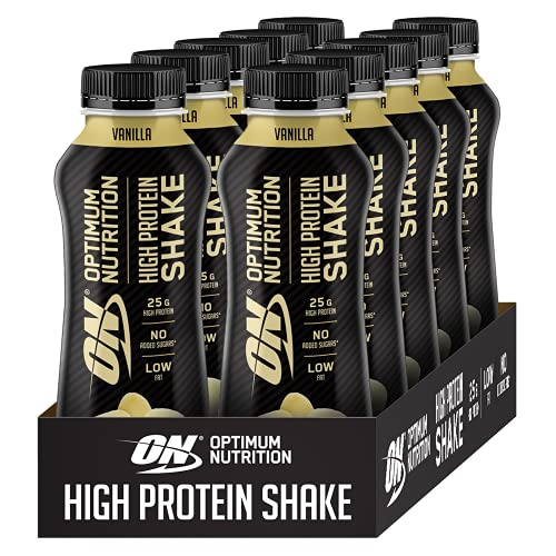 Optimum Nutrition ON High Protein Shake Bottles, Ready To Drink Post...