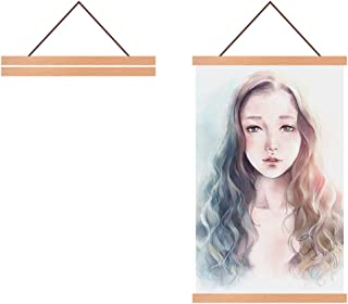 Radezon 8x10 8x12 8x18 Poster Frame, Magnetic Poster Frame Hanger for Photo Picture Canvas Artwork Wall Hanging (8 inch)