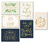 Best Wedding Cards - Wedding Greeting Cards - 24-Pack Wedding Congratulations Cards Review