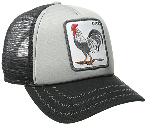 Goorin Bros. - Gorra de béisbol,101-9985, Hombres , Black/Gray Rooster, Ajustable