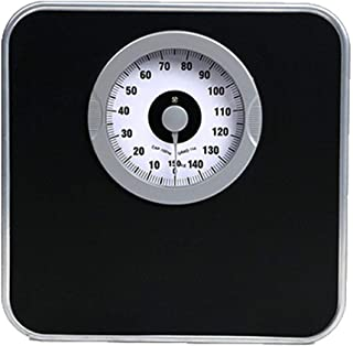Bathroom Scale Mechanical Weight Scale, Accurate Measuring, Professional Analog Large dial, no Battery, Load 330 lbs