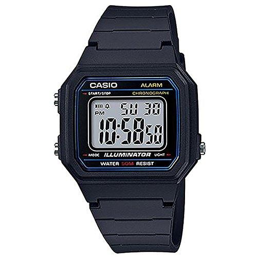 Relógio Masculino Casio Digital W-217H-1AVDF - Preto