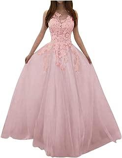 Ladies Fashion Elegant Sling Wedding Banquet Evening Dress Casual Lightweight Flowy V-Neck Sleeveless Long Dress