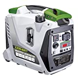 POWERSMITH PGA2200i 2.2kW Digital Inverter Generator - 2,200 Surge Watts, 1,700 Rated Watts - Parallel Ready - Digital Dashboard - Ultra-Portable: Telescoping Handle, Dual Rear Wheels