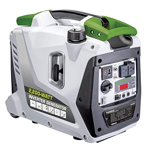 POWERSMITH PGA2200i 2.2kW Digital Inverter Generator - 2,200 Surge Watts, 1,700 Rated Watts -...