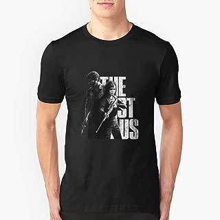 The Last Of Us Ellie and Joel Design Slim Fit TShirtT shirt Hoodie for Men, Women Unisex Full Size.