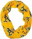 Oakland Athletics Repeat Wordmark Pr Infinity Scarf