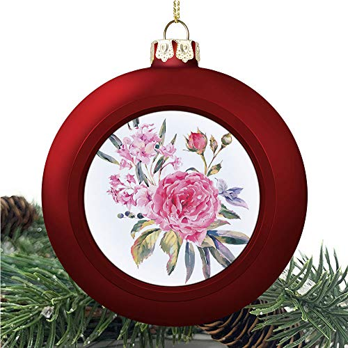 SUPNON Classical Vintage Floral | Christmas Ball Ornaments 2020 Christmas Pendant Personalized Creative Christmas Decorative Hanging Ornaments Christmas Tree Ornament №IS059492