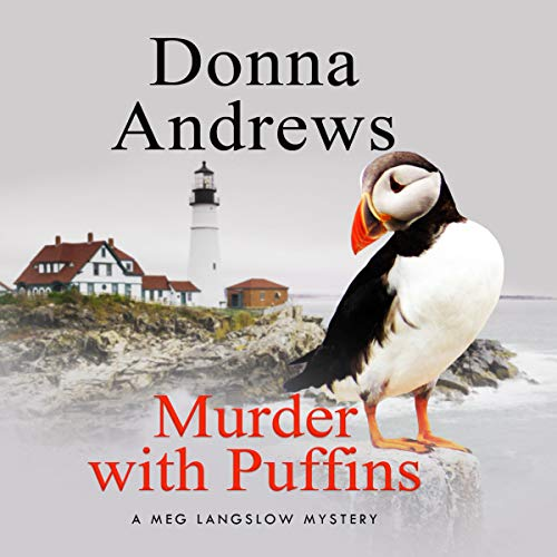Murder with Puffins audiobook cover art