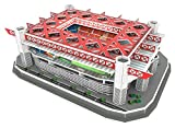 KARACTERMANIA Nanostad, Puzzle 3D Estadio Giuseppe Meazza Standard de Milano San Siro (39452), Multicolor